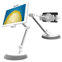 Adjustable Tablet Stand Heavy Duty Desktop Tablet Holder Mount Metal Arm Support 4 11 Mobile Phone/Tablets For Iphone Ipad Air