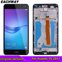 Original for Huawei Y5 2017 LCD Touch Screen Digitizer Y5 iii Display  MYA L02 L41 L22 Replacement Parts Nova Young Y6 2017 lcd