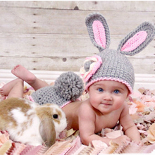 Get more info on the Newborn Baby Boys Girls Photography props Clothes Set Universal Cotton Warm Cute Rabbit Animal Hat Kids Infant Child Clothing