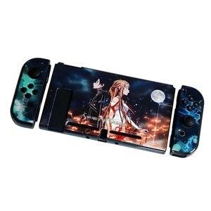 Image 4 - Przełącznik do Nintendo Anime jednoczęściowy twardy smukły futerał na konsolę Nintendo Switch NS Joy Con bezpośrednie dokowanie Protector Shell