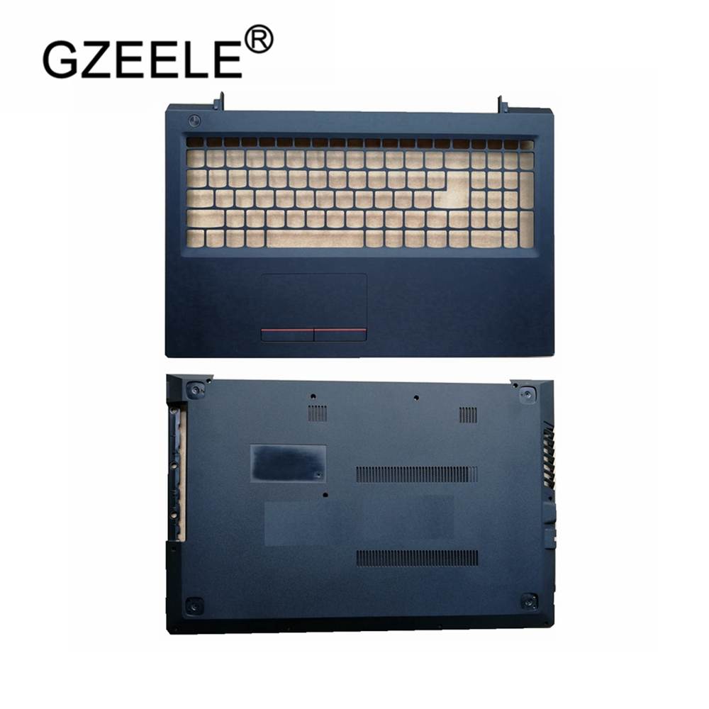 GZEELE laptop accessories NEW case cover For <font><b>Lenovo</b></font> <font><b>V310</b></font>-15 <font><b>V310</b></font>-15ISK Palmrest COVER/Laptop Bottom Base Case Cover image