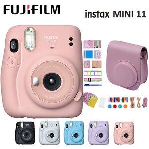 Image 1 - Fujifilm instax mini 11 mini11 Instant Camera Film Cam MINI9 MINI 9 without Battery Birthday Christmas Gift for Boys Girls