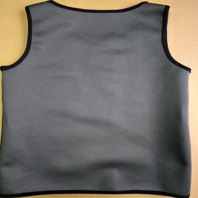 Hot sale Promotes weigh Sweat Sauna Body Shaper Men Vest Thermo Neoprene Trainer Sliming Waist Belt Durable And Comfortable Vest 2