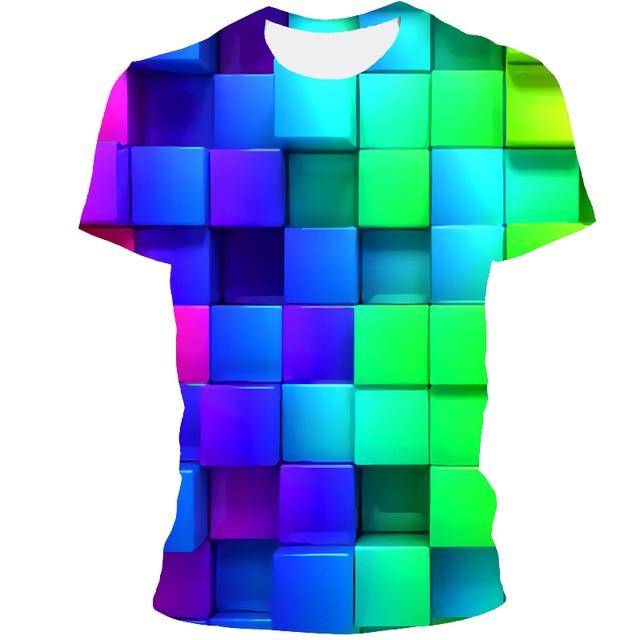 Мужская футболка 3D принтом чёрная дыра 6