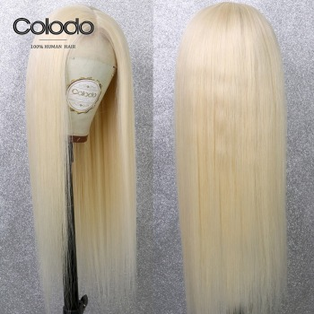 22inch 180 density full lace wig + 22 inch 150 density 13x6 lace front wig 613 color