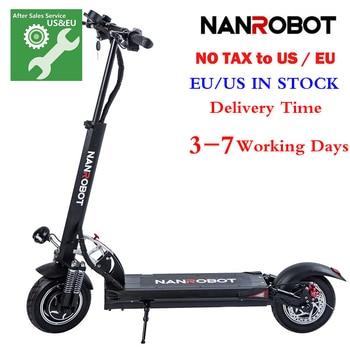 NANROBOT D5 + 2000W 52V 26AH adulte Scooter électrique 10