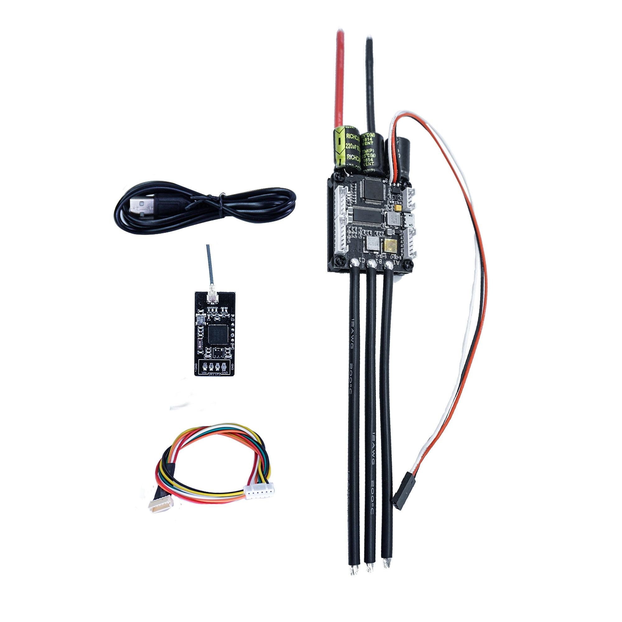 Skateboard Esc 50A Vesc 4.20 + Bluetooth Module Skate Eletrico 3-13s Latest Firmware Electric Speed Controller For Skateboard