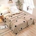 Бесплатная доставка Ferret кашемировое теплое покрывало на кровать  одеяло