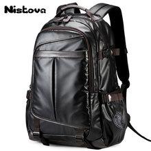 Nueva mochila para hombres para computadora portátil de 15,6 pulgadas, mochila de estudiante de gran capacidad bolso de estilo Casual repelente al agua Unisex equipaje & bolsas