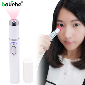 Portable Wrinkle Scar Acne Remover Device Powerful Blue Light Therapy Pen Spider Vein Blu-ray acne pen Eye Skin Care Tool