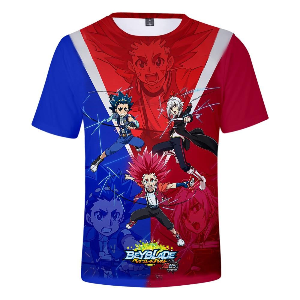 Suitable Beyblade Burst Evolution New 3D T shirts Men Women T-shirt Popular Cartoon t shirt Summer Tee Shirt 3D boys print girls