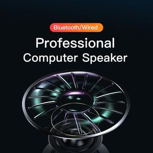 Image 4 - 4D Computer Speaker Bar Stereo Sound Subwoofer Bluetooth Speaker For Macbook Laptop Notebook PC Music Player Wired Loudspeaker