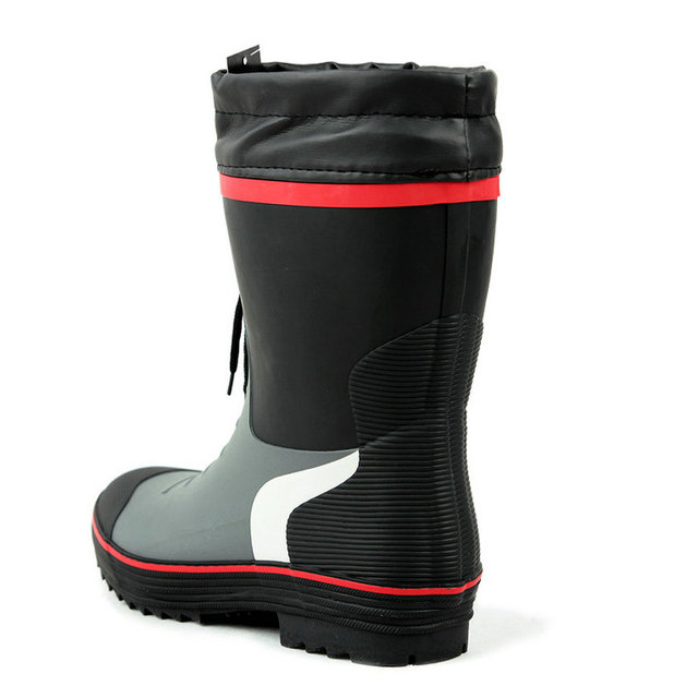 Cuculus 2021 Winter Camouflage Snow Men Boots Rain Shoes Waterproof With Plush Warm Male Casual Mid-Calf Work Fishing Boot 2119 4