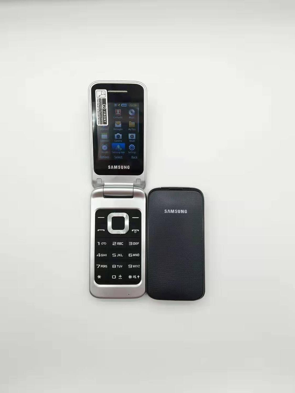 100% teléfono móvil Original desbloqueado SAMSUNG C3520 teclado Inglés ruso y un año de garantía envío gratis - 4