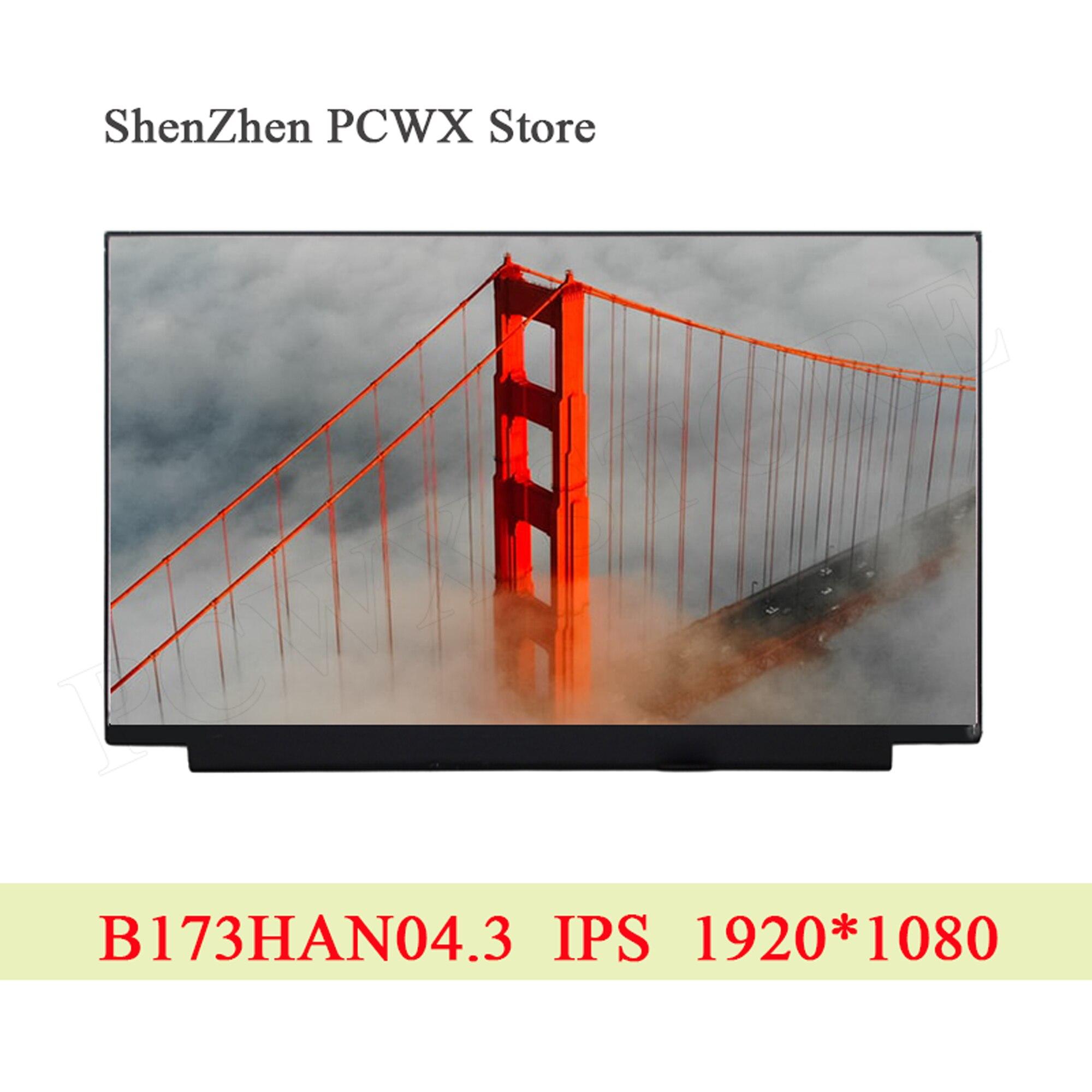 ЖК экран для ноутбука B173HAN04.3, светодиодный IPS экран для AUO 439D 17,3 дюйма, оригинальный ноутбук, плоский матовый дисплей FHD 2K 1920*1080, 30 контактов, 100%