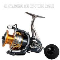 Spinning Fishing Reel 2000 7000 5.0:1 full matel Fly Fishing Wheel Fishing Tools sea fishing wheel Water Resistance Bass Fishing|Fishing Reels| |  -