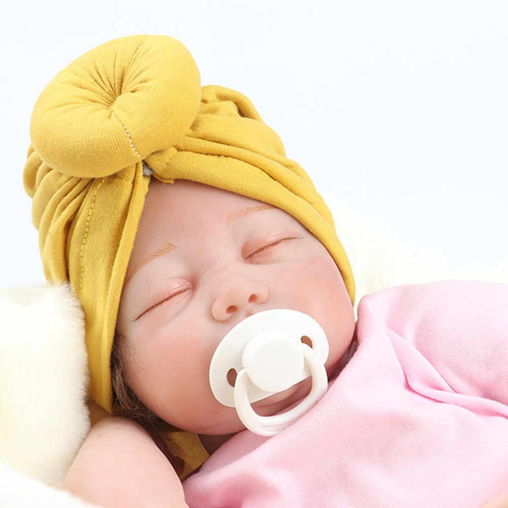 2020 New Hot Bayi Sorban Anak-anak Balita Anak Gadis India Topi Indah 18 Cm Lembut Topi Musim Semi Musim Panas Musim Gugur Musim Panas topi Bayi Pakaian