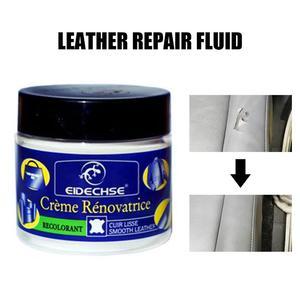 Image 2 - Leather Vinyl Repair Kit Auto Car Seat Sofa Coats Holes Scratch Cracks Rips Liquid Leather Repair Tool Restoration Car Care Tool