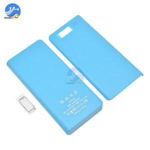 Image 5 - 8x18650 Caixa de Bateria Carregador De Banco de Potência Titular Caso Reservatório de Plástico DIY Kit 18650 LCD Display Celular Porta USB sem Bateria