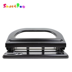 4 Holes Heavy Paper Punch Manual Heavy Hole Punch Adjustable 4-hole Punch Paper Puncher Paper-punch (30 papers one time) No.9640