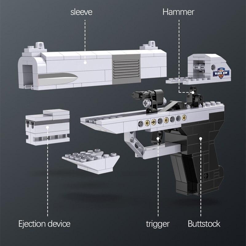 Cada Double-Barreled Pistol Technical Gun