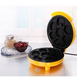 Maszyna do ciasta mini śniadanie maszyny w pełni automatyczna maszyna do domu wafel maszyny dla dzieci cartoon śniadanie maszyna