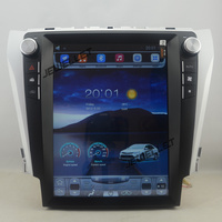 12.1 tesla style vertical screen Octa core Android 8.1 Car GPS navigation for Toyota Camry Aurion Daihatsu Altis 2012 2017