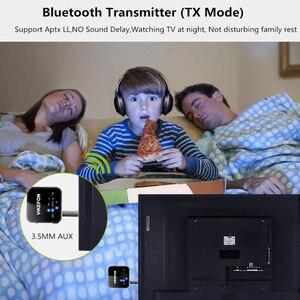 Image 4 - דיבורית שיחת Bluetooth 5.0 מקלט משדר CSR8675 AptX HD/LL 3.5mm AUX RCA אודיו אלחוטי מתאם עבור טלוויזיה רכב רמקול מחשב