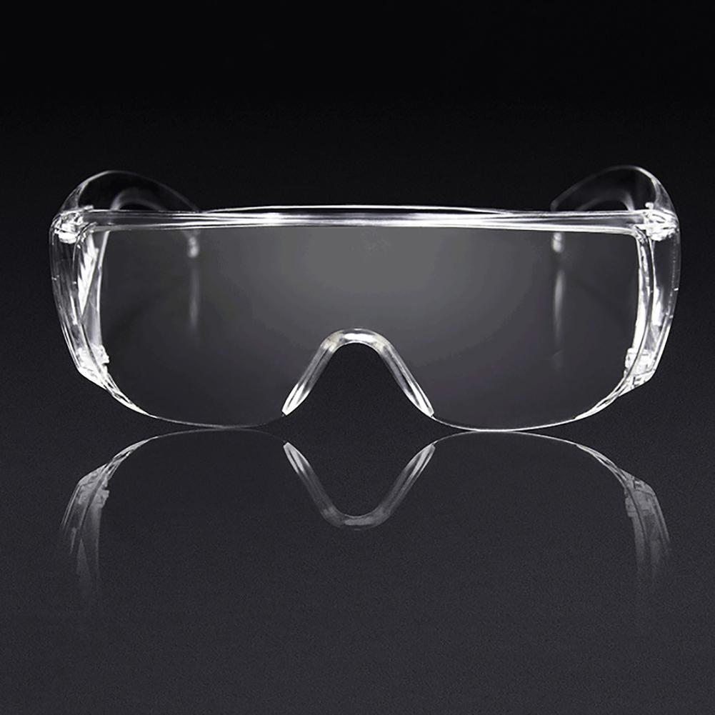 Transparent Protective Glasses Safety Waterproof And Antivirus Blocking Saliva Droplets For Industrial Research Cycling Riding image
