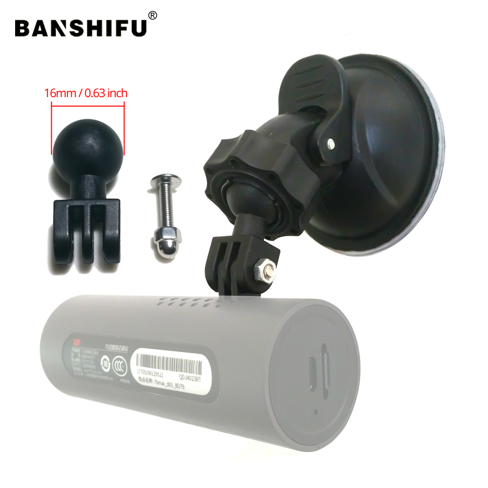 For Xiaomi 70Mai Suction Cup Mounts Holder Dash Cam Mirror Suction Cup Mount Windshield 70Mai DVR Holder