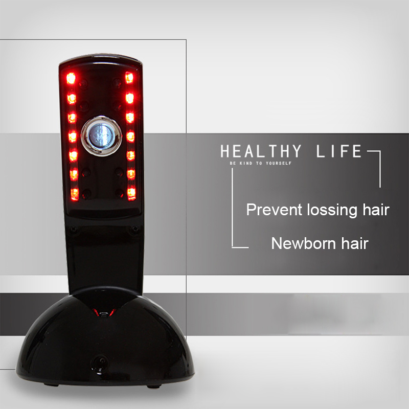 Laser Hair Generating Comb Ozone Infrared Hair Preventing Hair Loss Electrotherapy Acupuncture Health Care Head Massage Comb