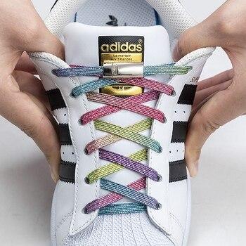 Nouveaux lacets magnétiques élastiques Sans Nœud Streetwear