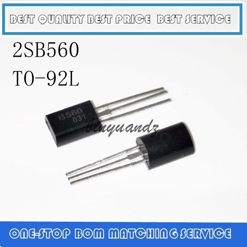 10PCS 2SB560 B560 TO-92L