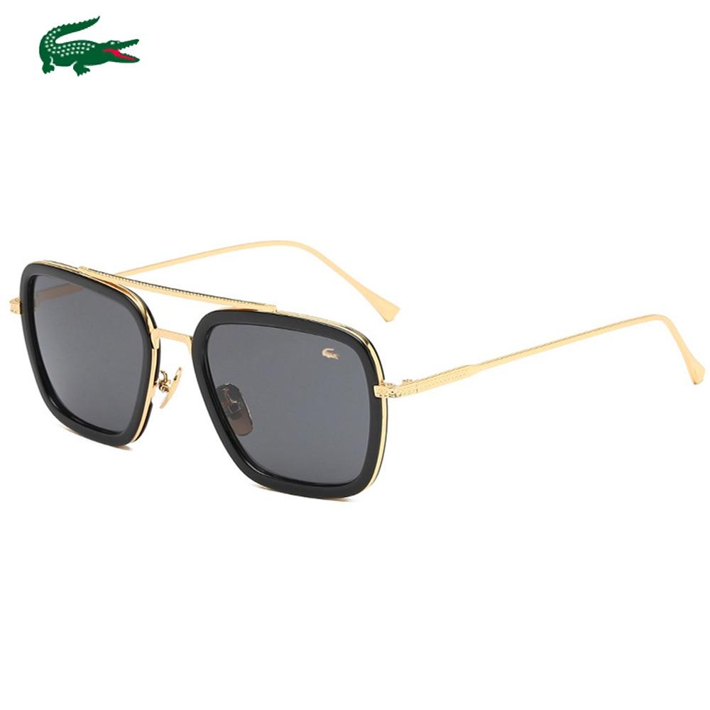 2020 New Fashion Big Frame Sunglasses Men Square Fashion Glasses For Women High Quality Retro Sun Glasses Vintage Gafas Oculos