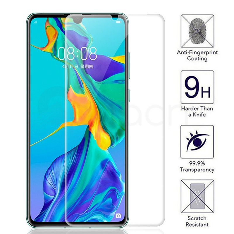 9H Tempered Glass On The For Huawei P30 Lite P20 Pro P10 Lite Plus P Smart 2019 Safety Screen Protector Protective Glass Film