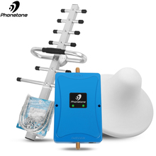 GSM Repeater 900 UMTS 1800 MHz Dual Band 3/8 2G 3G 4G LTE Mobile Amplifier Cellular Signal Booster EGSM 70dB +Yagi/Ceilin Antenn gsm modem pool 8 ports for wavecom q2303 module usb at commands 900 1800 mhz