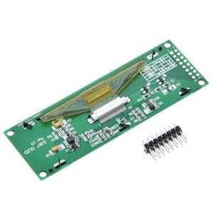 "Image 5 - TZT جديد OLED عرض 2.8 ""256*64 25664 نقطة الرسم وحدة عرض LCD شاشة LCM SSD1322 تحكم دعم SPI"