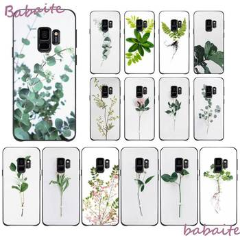 Babaite wood sorrel stills on white flowers Painted Phone Case for Samsung GALAXY S10 20 PLUS S10E LITE S10-5G M20 30 J2 PRIME image