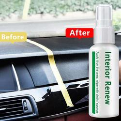 20/50mL Auto Interior Renewal Plastic Parts Retreading Agent Interior Maintenance Cleaner Refurbisher Agent Car Care
