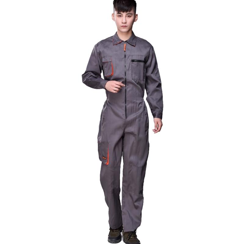 Jumpsuit Suits Male Paints Outdoor Coveralls Uniformes De Trabalho Workshop Female Overalls Taller Mecanico Welding Suit Welder