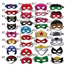 Superhero mask Cosplay Princess Halloween Christmas kids adult Party Costumes Masks