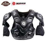 SCOYCO CE Motorcycle Armor Chest/Elbow/Shoulder/Waist Protector Armor Gear Motorbike Vest Safety Equipment Chest Back Guard