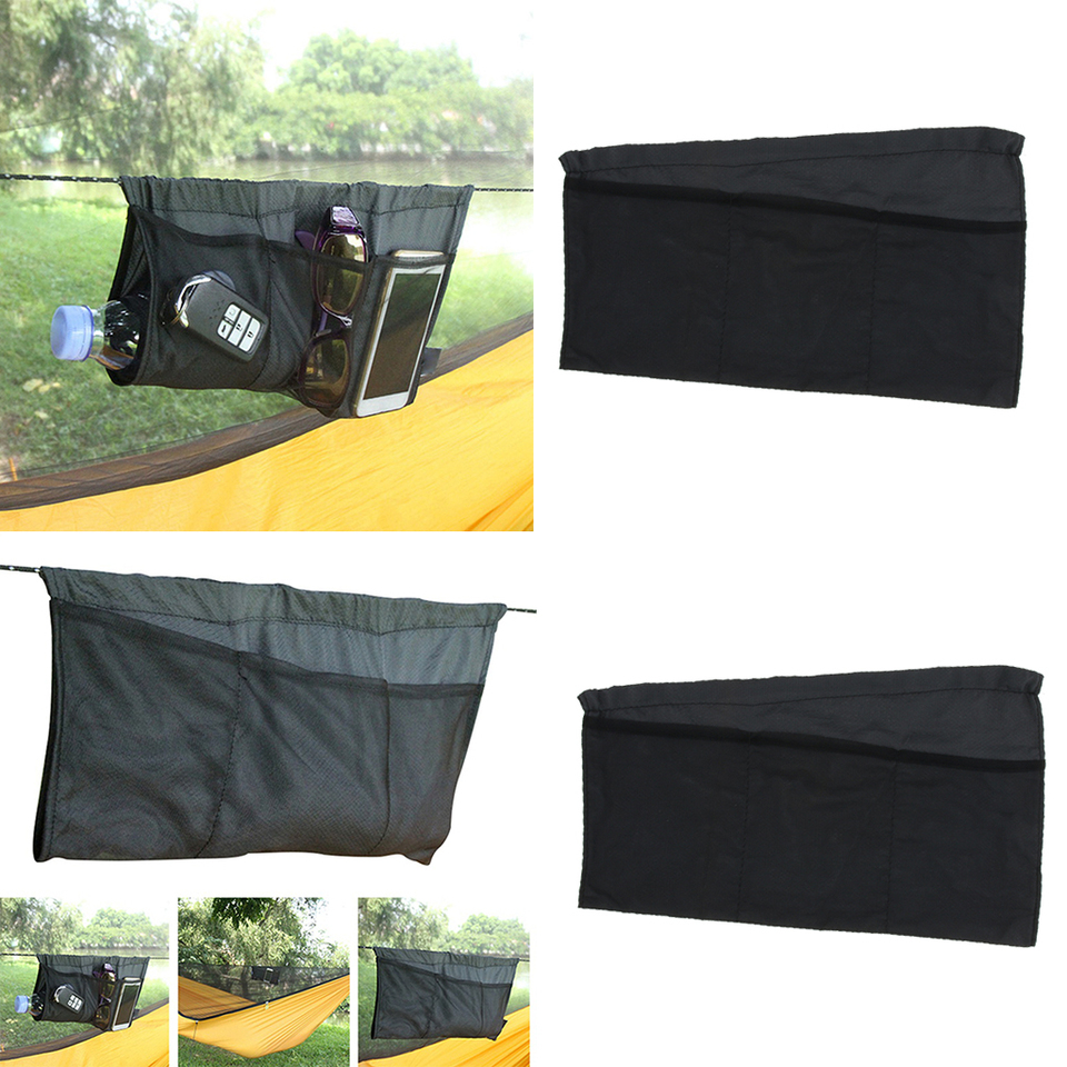 Hammock Organizer Storage Bag Outdoor Sports Hanging Pouch Portable Foldable