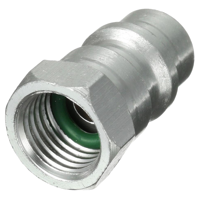 Quality R12 R22 R502 To R134A Fast Quick Conversion Adapter Valve 1/4 Inch To 8v1 Thread US
