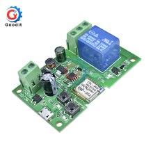 Dc 5v/5v-12v sonoff wifi interruptor inteligente sem fio módulo de relé para casa inteligente android IOS5V-12V wi-fi interruptor sem fio módulo de relé
