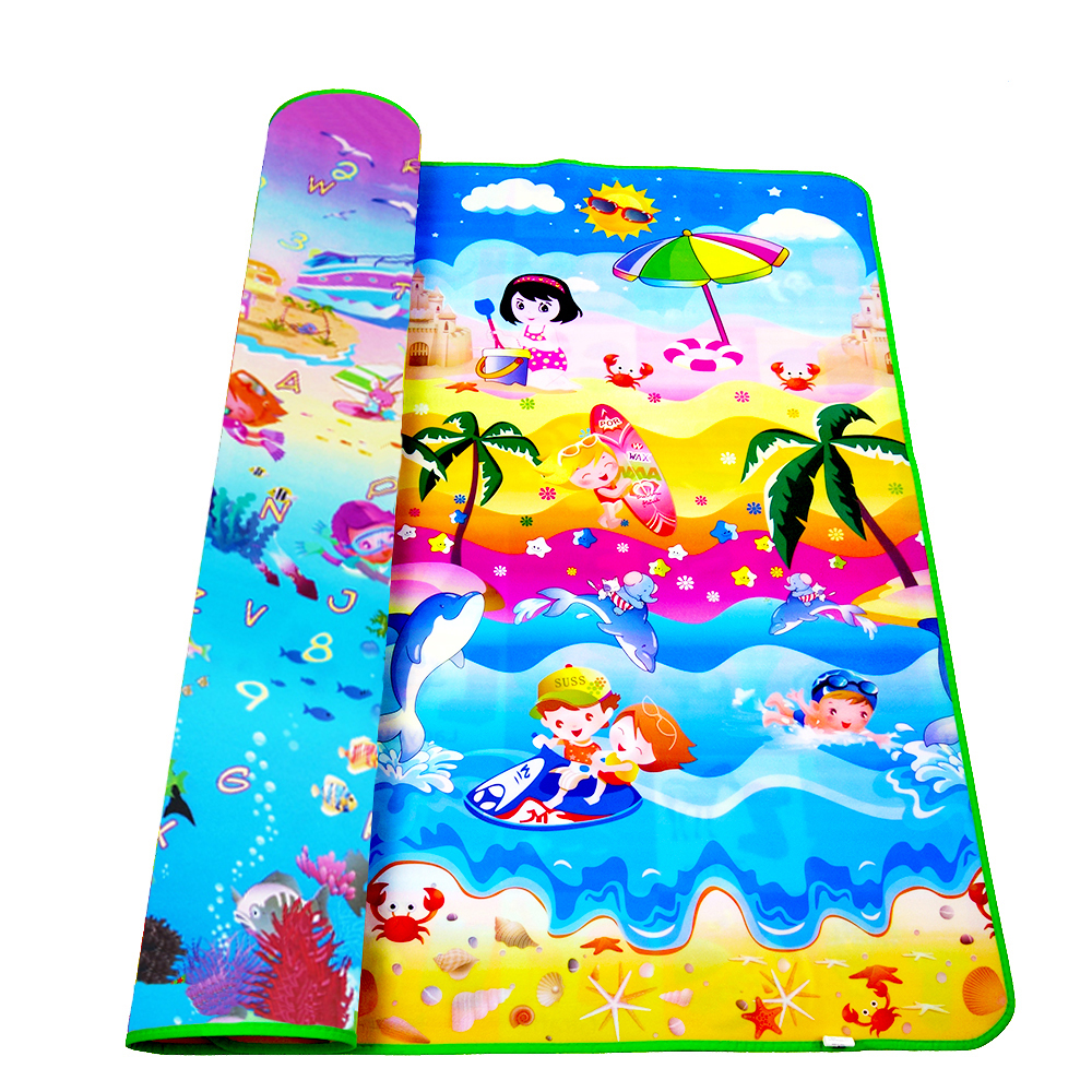 Crawling Pad Play Mat For Kids Children Baby Playmat Carpet Thick Puzzle EVA 200*180*0.5CM Cartoon Non-slip Room Floor Game Mat