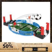 Мини настольный футбол для помещений, Детская атлетика, футбол, Боевая игрушка для атлетики, двойные виды спорта Y6M8