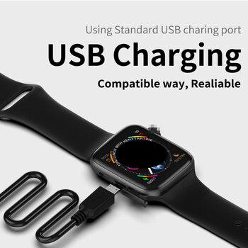Reloj Inteligente De 1,54 Pulgadas Con Esfera De Llamada Bluetooth Y Monitor De Frecuencia Cardíaca ECG PK Ewo 8 10 Relojes Para Hombre Y Mujer