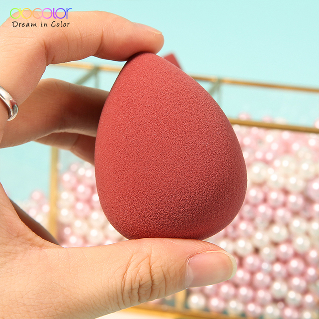 Docolor Makeup Sponge Professional Cosmetic Puff For Foundation Concealer Cream Beauty Make Up Soft Water Sponge Wholesale 5