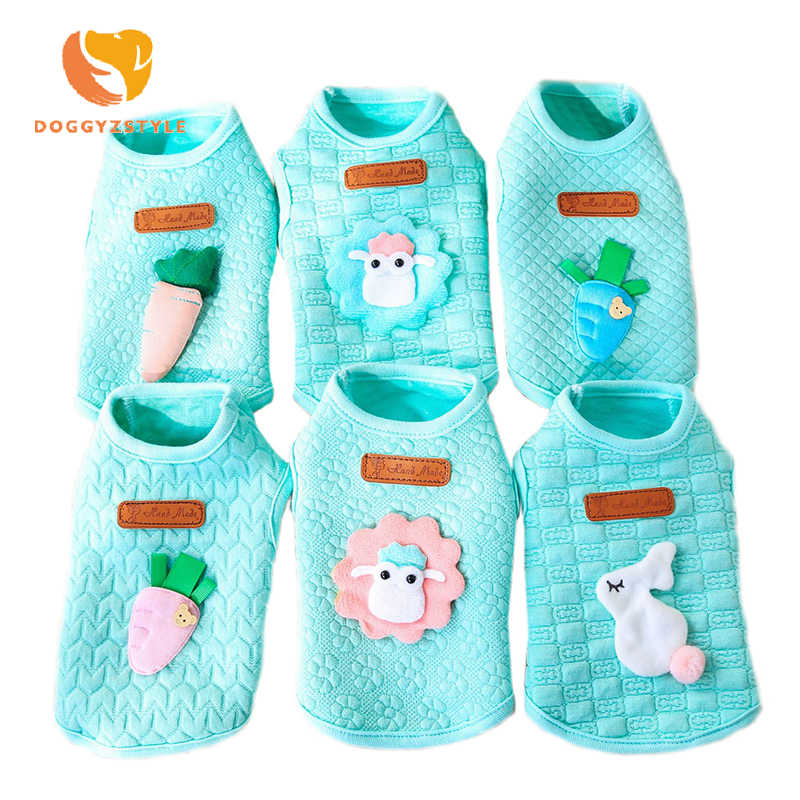 Xxs Xs Dog Clothes For Small Dog Cat Baby Cute Blue Color Puppy Kitten Vest Shirt Spring Summer Little Pet Outfit Costumes Dog Vests Aliexpress